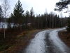 Våt, mjuk grusvei Gulsjøen